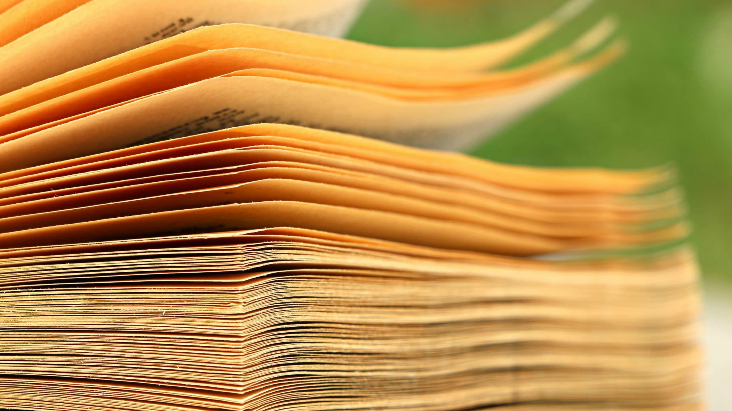 brown paper book 159510