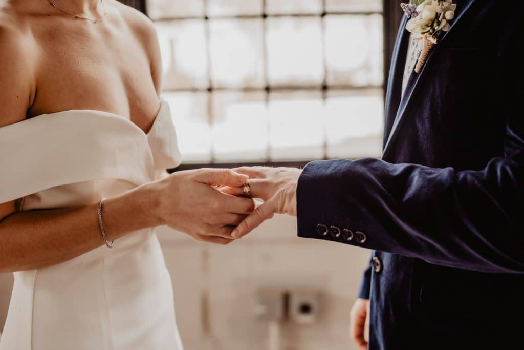 Couple getting married who are going to soon make a will