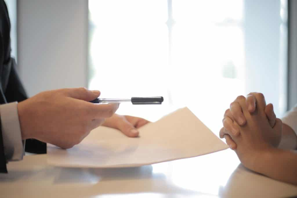 somedy making correct changes to a will