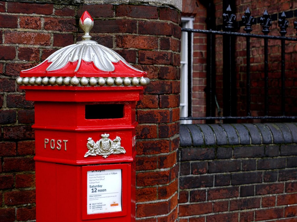 post box where a landlord can send their section 8 notice