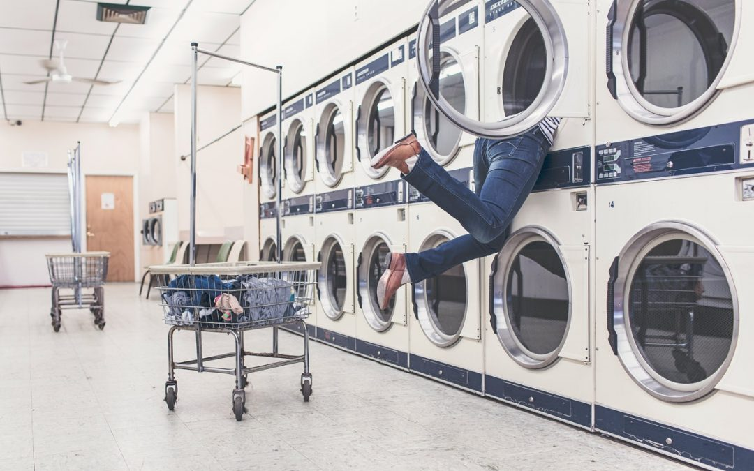 Launderette which has been illegally money laundering