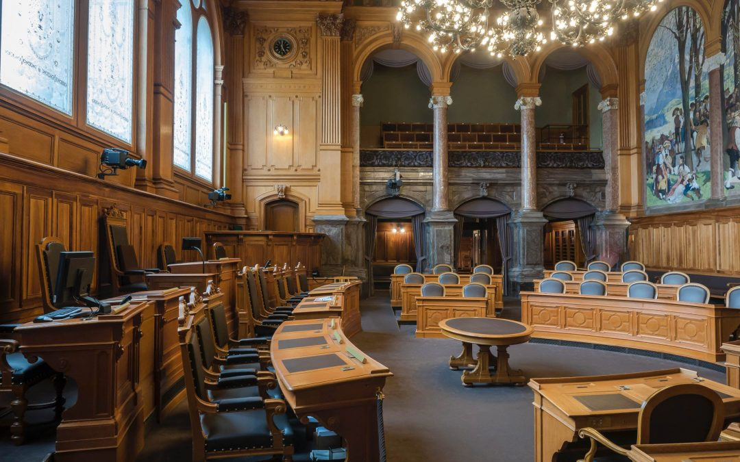 Crown Court Room in the UK